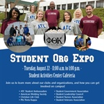 Welcome Week: Student Organization Expo