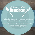 Welcome Week: Muncheon