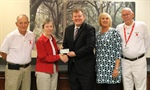 Mended Hearts Donates $6,300 to ATC Foundation