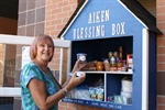 Foundation Unveils New ATC Blessing Box