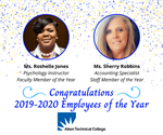 Aiken Technical College Announces Its Employees of the Year