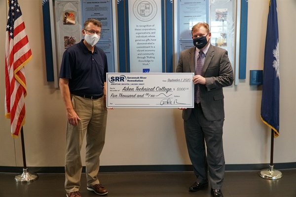 Savannah River Remediation Donates Funds to Radiation Protection Technology Program