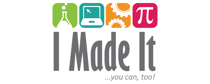 Logo for I Made It initiative